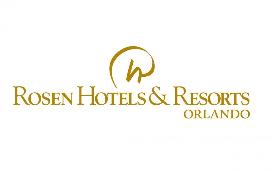 Rosen Hotels & Resorts Orlando logo (Gold)