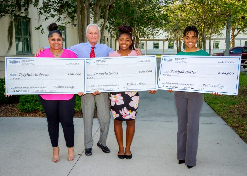 May 8, 2018 -- The Harris Rosen Foundation Awards its First Annual Rollins College Scholarships.