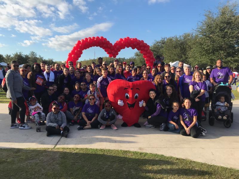 Heart Walk - Rosen Associates