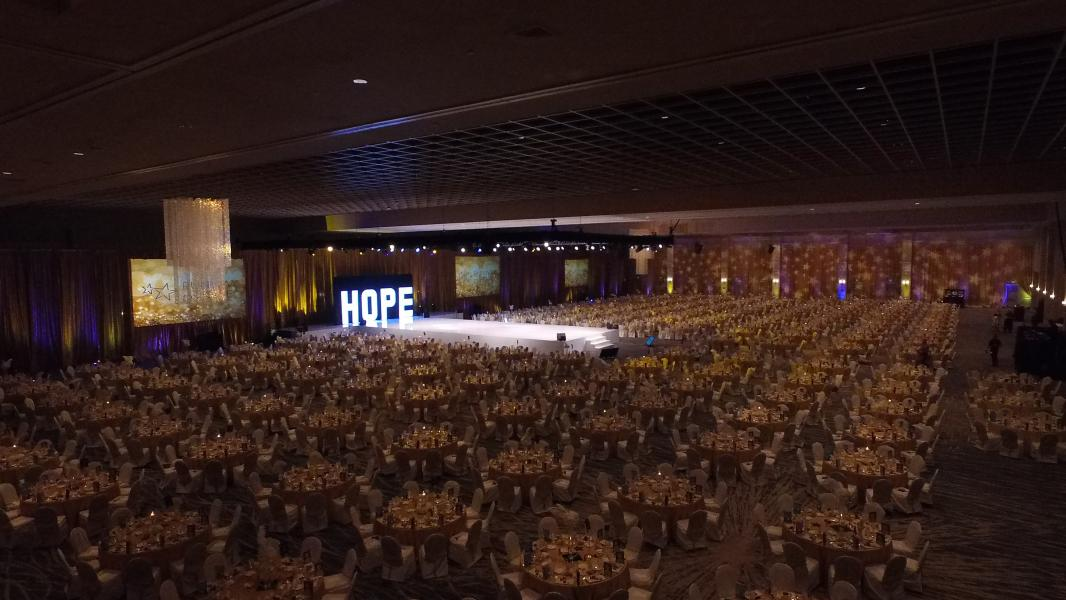 Runway to Hope, Sebastian Ballroom