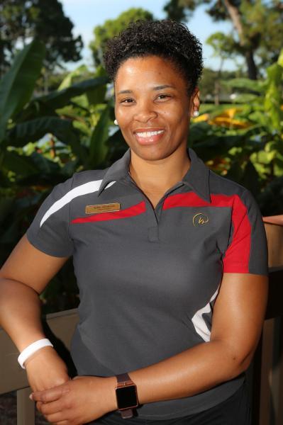 Tashia Henderson, Director of Security