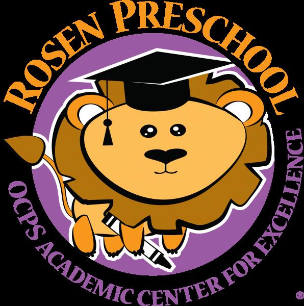 Full Color Rosen PreSchool Logo