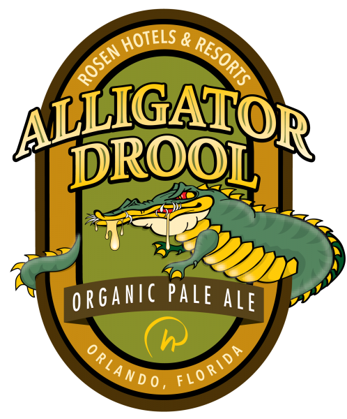 Alligator Drool Label