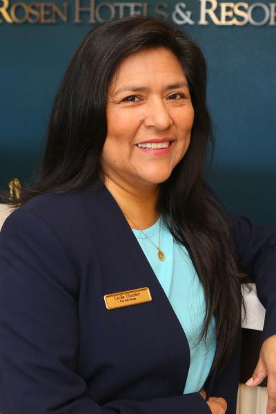 Cecilia Chombo, Front Desk Manager