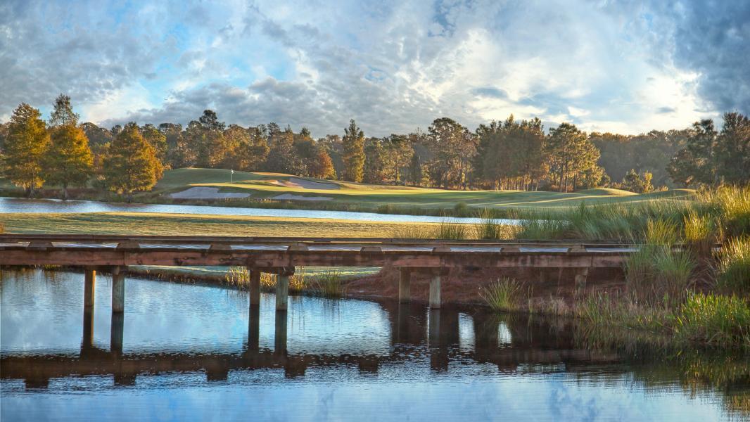 Shingle Creek Golf Club - Hole 1