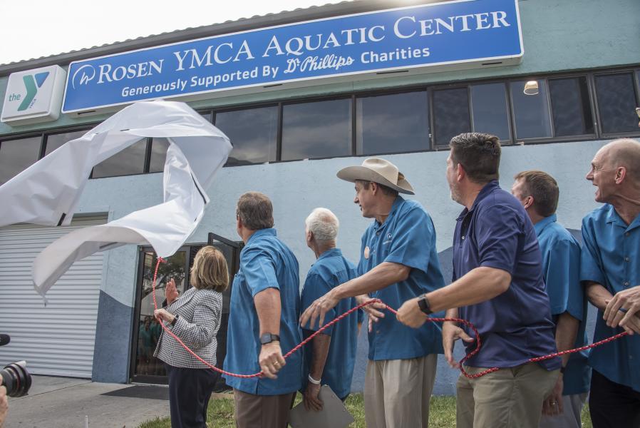 Rosen YMCA Aquatic Center Renaming Ceremony
