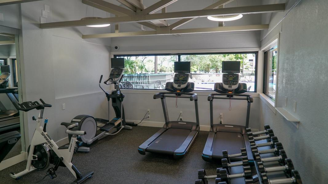 Fitness Center - View of the Whole Gym