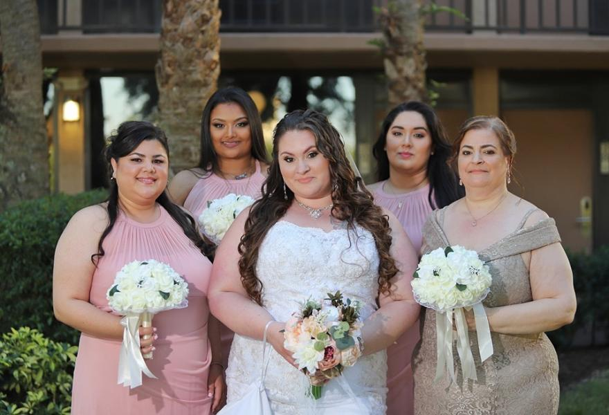 Elizabeth Cardona Wedding Party at Bella Vista