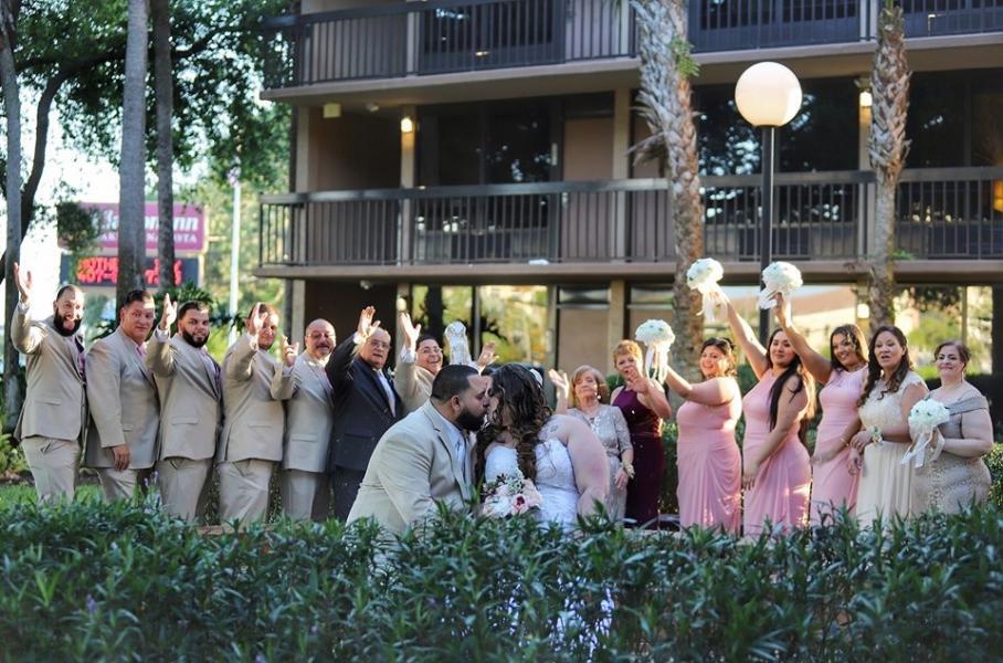 Elizabeth Cardona Wedding Party at Bella Vista