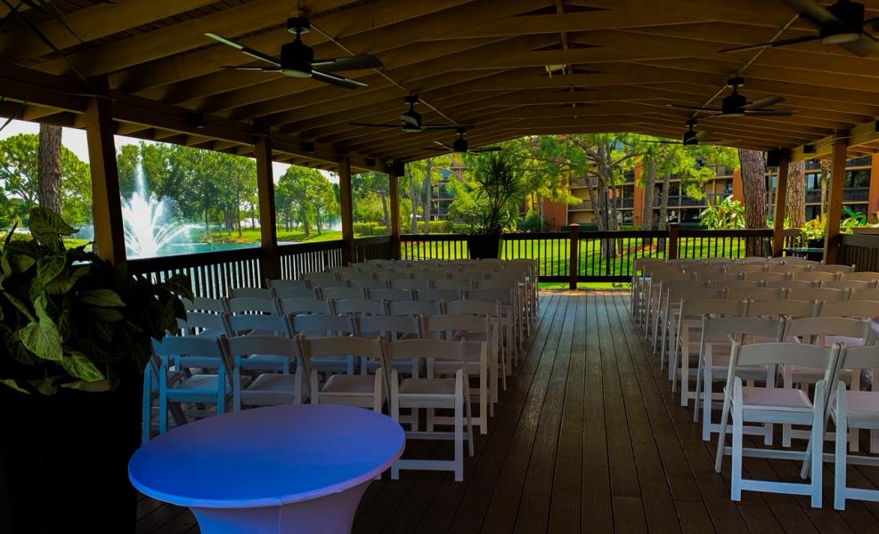 View of Springs from Pavilion/Wedding