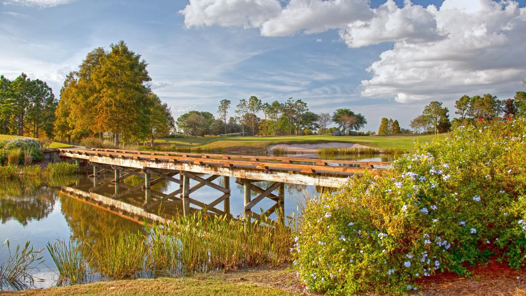 Shingle Creek Golf Club - Hole 18