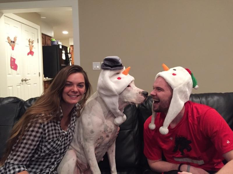 Shayna Rosen, Bella, and Adam Michael Rosen Get into the Christmas Spirit