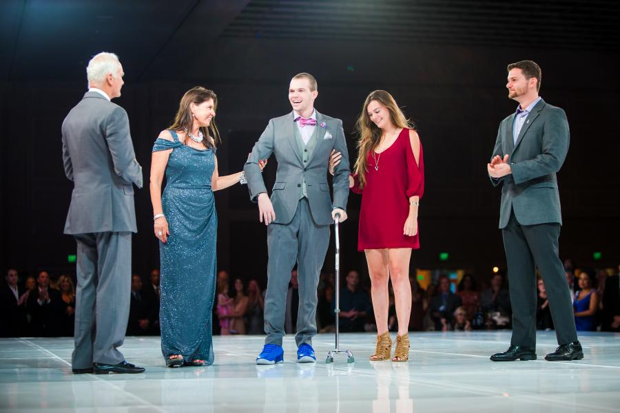 The Rosen Family at Runway to Hope