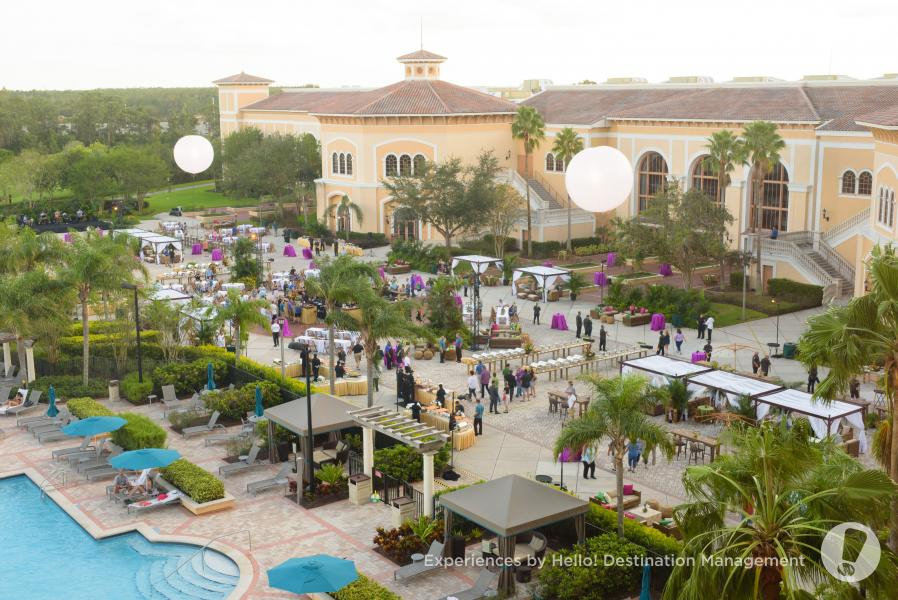 Terrace Set Up Event