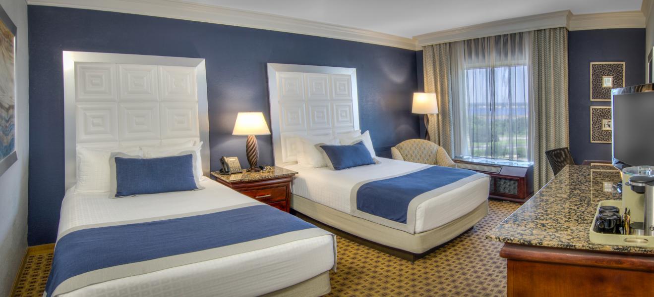 Rosen Plaza Double Guestroom