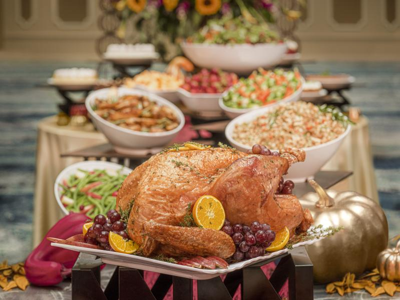 Rosen Plaza's Thanksgiving Day Buffet