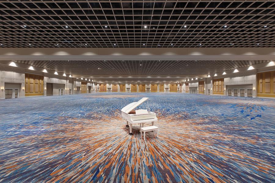 Gatlin ballroom 95,000 square feet column-free