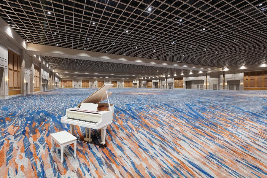 Gatlin Ballroom, 95,000 square feet column-free
