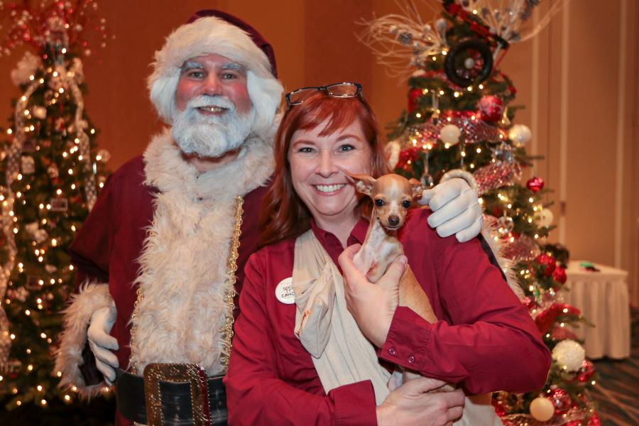 Dec. 6, Sock it to Cancer -- Everyone joined in on the holiday fun at this first-year fundraising event.