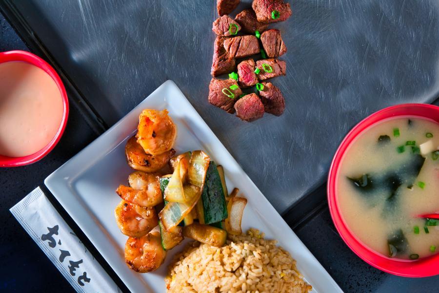 Shogun Steakhouse Overhead Plated