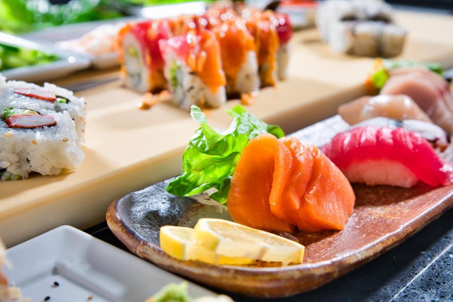 Shogun Sakura Nigiri Sushi