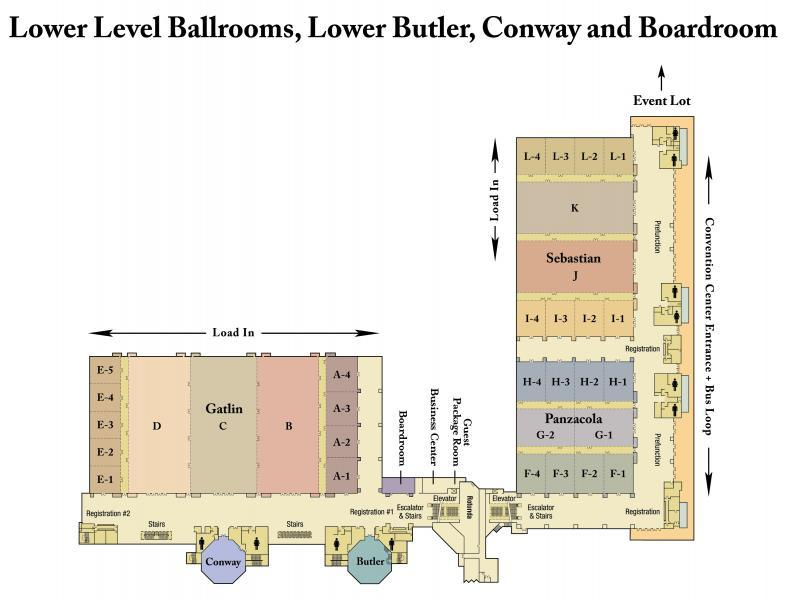 Floor Plan Level 1 – Ballroom