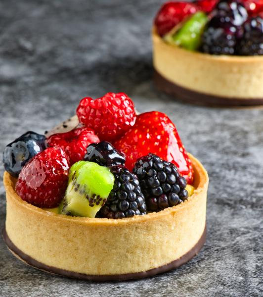 Smoooth Java Fruit and Berry Tart