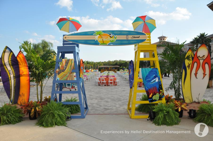 Terrace Outdoor Event - Set Up by Hello! Florida