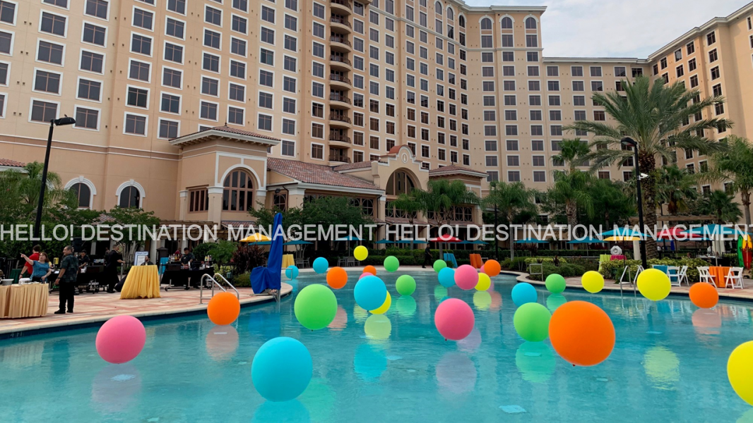 Pool Set Up -  Experiences By Hello! Destination Management