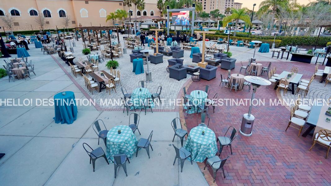 Terrace Set Up -  Experiences By Hello! Destination Management