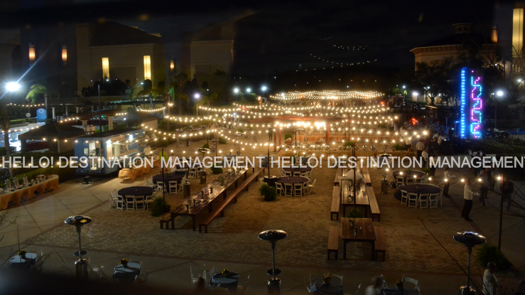 Outdoor Terrace Event -  Experiences By Hello! Destination Management